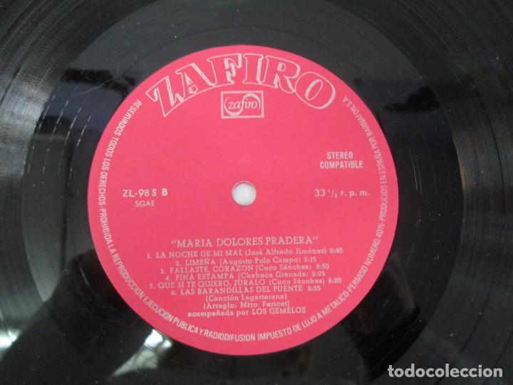 Discos de vinilo: MARIA DOLORES PRADERA. LP VINILO. LOTE 10 DISCOS. ZAFIRO. VER FOTOGRAFIAS ADJUNTAS - Foto 31 - 139619358