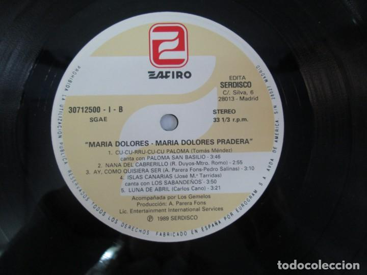 Discos de vinilo: MARIA DOLORES PRADERA. LP VINILO. LOTE 10 DISCOS. ZAFIRO. VER FOTOGRAFIAS ADJUNTAS - Foto 41 - 139619358