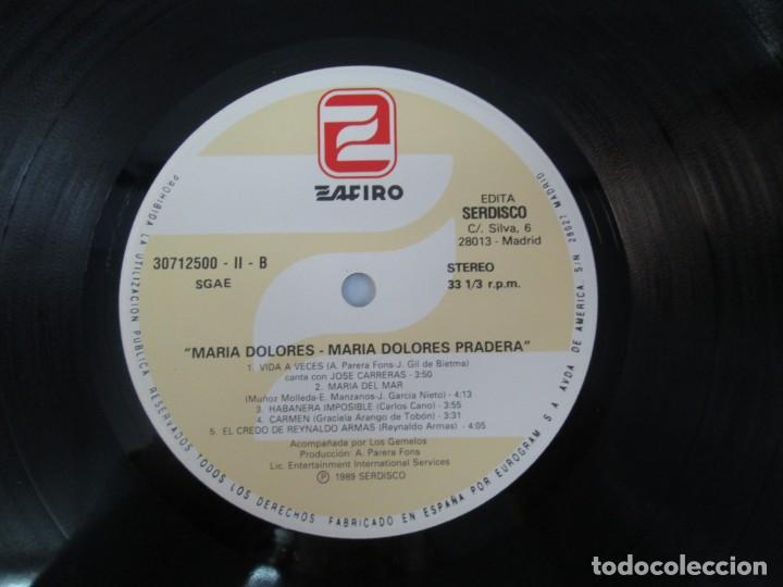 Discos de vinilo: MARIA DOLORES PRADERA. LP VINILO. LOTE 10 DISCOS. ZAFIRO. VER FOTOGRAFIAS ADJUNTAS - Foto 43 - 139619358
