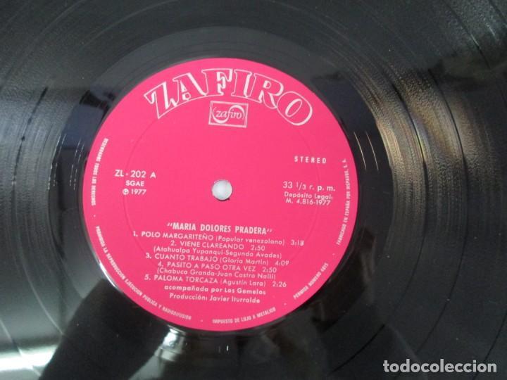 Discos de vinilo: MARIA DOLORES PRADERA. LP VINILO. LOTE 10 DISCOS. ZAFIRO. VER FOTOGRAFIAS ADJUNTAS - Foto 53 - 139619358