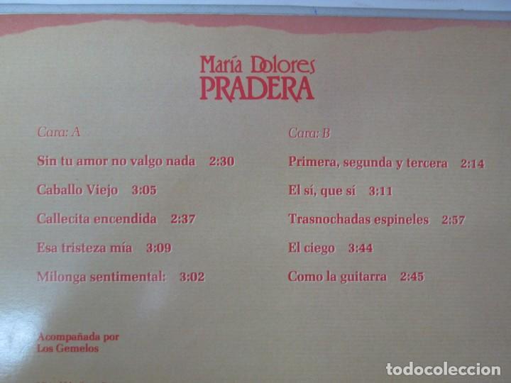 Discos de vinilo: MARIA DOLORES PRADERA. LP VINILO. LOTE 10 DISCOS. ZAFIRO. VER FOTOGRAFIAS ADJUNTAS - Foto 57 - 139619358