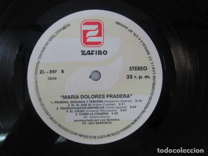 Discos de vinilo: MARIA DOLORES PRADERA. LP VINILO. LOTE 10 DISCOS. ZAFIRO. VER FOTOGRAFIAS ADJUNTAS - Foto 61 - 139619358