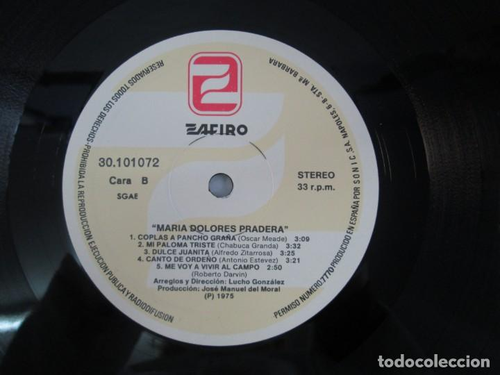 Discos de vinilo: MARIA DOLORES PRADERA. LP VINILO. LOTE 10 DISCOS. ZAFIRO. VER FOTOGRAFIAS ADJUNTAS - Foto 67 - 139619358