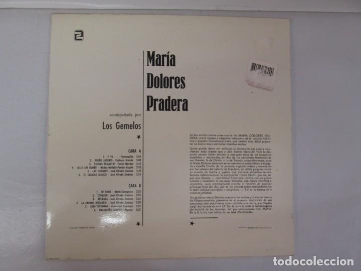 Discos de vinilo: MARIA DOLORES PRADERA. LP VINILO. LOTE 10 DISCOS. ZAFIRO. VER FOTOGRAFIAS ADJUNTAS - Foto 72 - 139619358