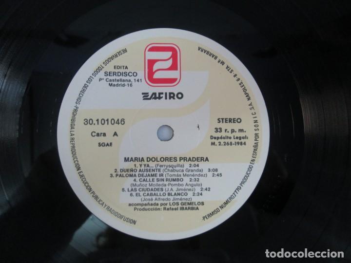 Discos de vinilo: MARIA DOLORES PRADERA. LP VINILO. LOTE 10 DISCOS. ZAFIRO. VER FOTOGRAFIAS ADJUNTAS - Foto 77 - 139619358