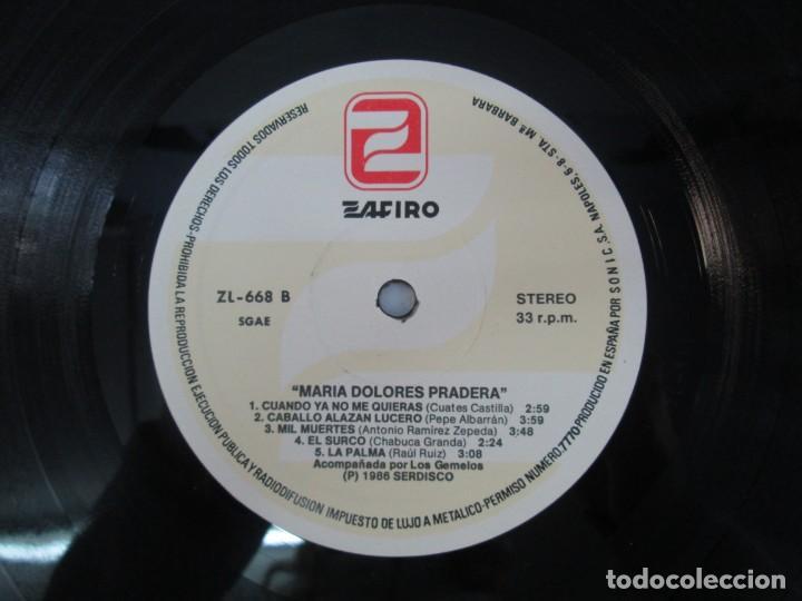 Discos de vinilo: MARIA DOLORES PRADERA. LP VINILO. LOTE 10 DISCOS. ZAFIRO. VER FOTOGRAFIAS ADJUNTAS - Foto 84 - 139619358