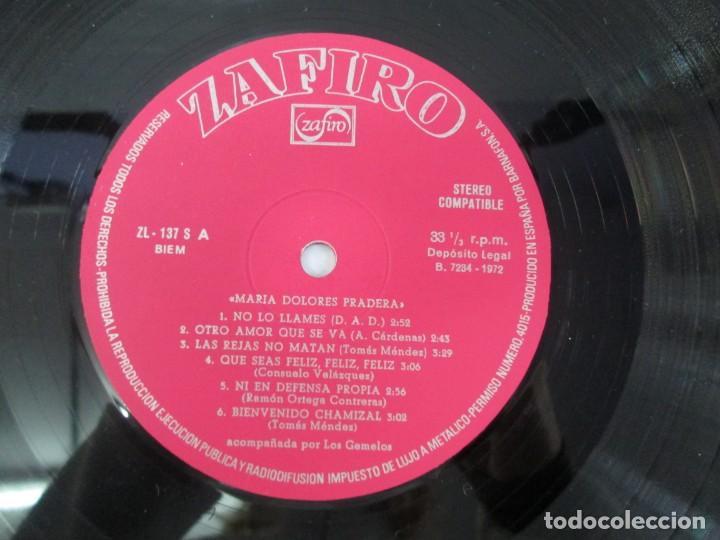 Discos de vinilo: MARIA DOLORES PRADERA. LP VINILO. LOTE 10 DISCOS. ZAFIRO. VER FOTOGRAFIAS ADJUNTAS - Foto 92 - 139619358