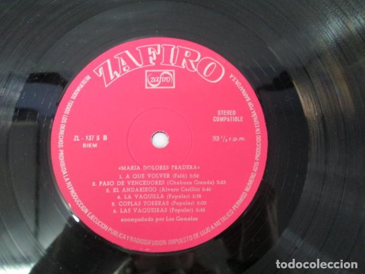 Discos de vinilo: MARIA DOLORES PRADERA. LP VINILO. LOTE 10 DISCOS. ZAFIRO. VER FOTOGRAFIAS ADJUNTAS - Foto 94 - 139619358