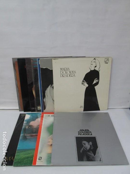 MARIA DOLORES PRADERA. LP VINILO. LOTE 10 DISCOS. ZAFIRO. VER FOTOGRAFIAS ADJUNTAS (Música - Discos - LP Vinilo - Flamenco, Canción española y Cuplé)