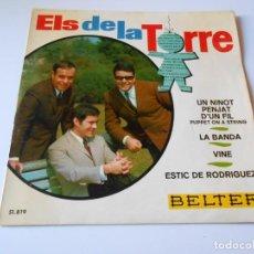 Discos de vinilo: DE LA TORRE, EP, UN NINOT PENJAT D´UN FIL + 3, AÑO 1967. Lote 139622222