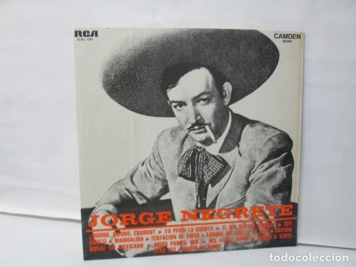 Discos de vinilo: JORGE NEGRETE. 3 LP VINILO. RCA. VER FOTOGRAFIAS ADJUNTAS. - Foto 2 - 139622606