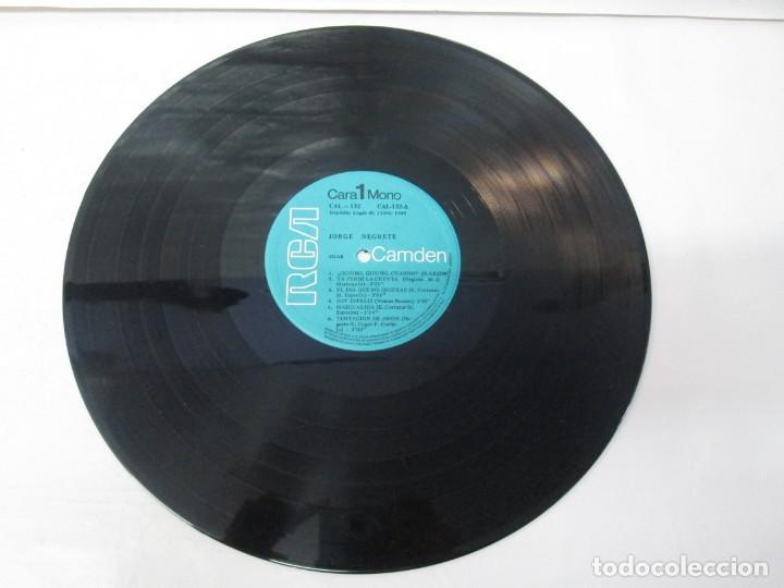 Discos de vinilo: JORGE NEGRETE. 3 LP VINILO. RCA. VER FOTOGRAFIAS ADJUNTAS. - Foto 6 - 139622606