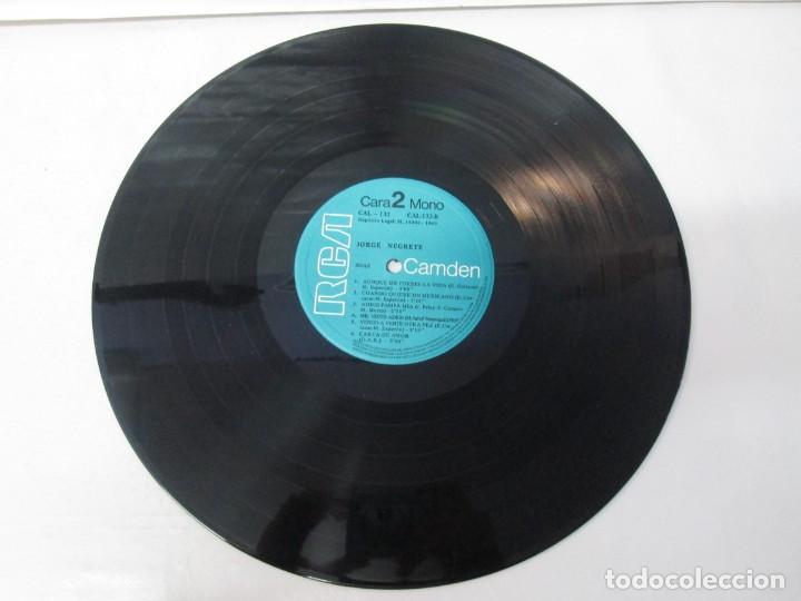Discos de vinilo: JORGE NEGRETE. 3 LP VINILO. RCA. VER FOTOGRAFIAS ADJUNTAS. - Foto 8 - 139622606