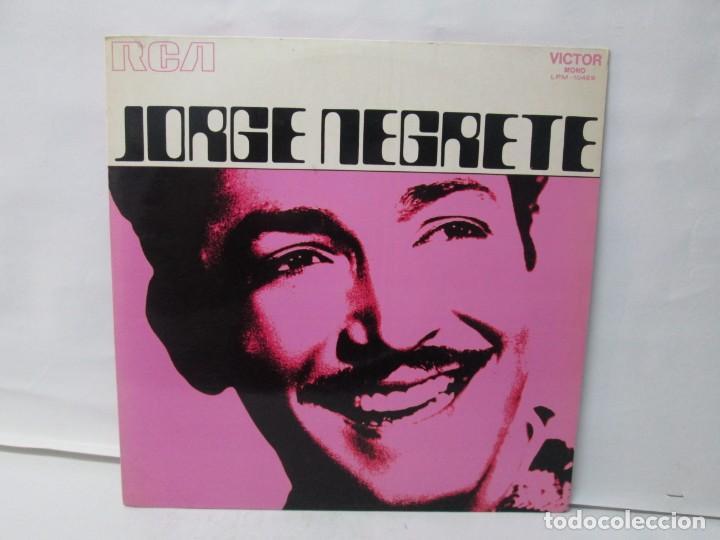 Discos de vinilo: JORGE NEGRETE. 3 LP VINILO. RCA. VER FOTOGRAFIAS ADJUNTAS. - Foto 18 - 139622606