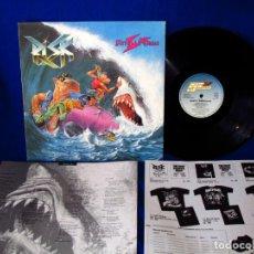Discos de vinilo: RISK - DIRTY SURFACES - LP GERMANY 1990 - INCLUYE INNER CON LAS LETRAS Y HOJA MERCHANDISING -. Lote 139622986