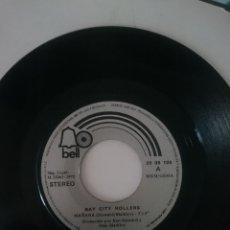 Discos de vinilo: BAY CITY ROLLERS - MAÑANA -BECAUASE I LOVE YOU -AÑO 1972 -REFM1E4BOES132DISIN. Lote 139624874