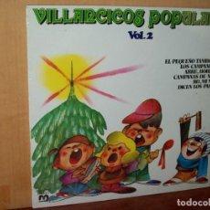 Discos de vinilo: VILLANCICOS POPULARES - LP VOLUMEN 2 . Lote 139627674