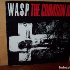 Discos de vinilo: W.A.S.P. - THE CRIMSON IDOL -LP 1992 CARPETA SE VE USADA. Lote 139629670