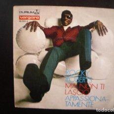 Discos de vinilo: ROCKY ROBERTS - MA NON TI LASCIO. SINGLE.. Lote 139630034