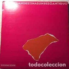 Discos de vinilo: MODAS CLANDESTINAS - UN BESO ANTIGUO (SOCIEDAD FONOGRÁFICA ASTURIANA,549 189, 12'', MAXI, 1985). Lote 139631250