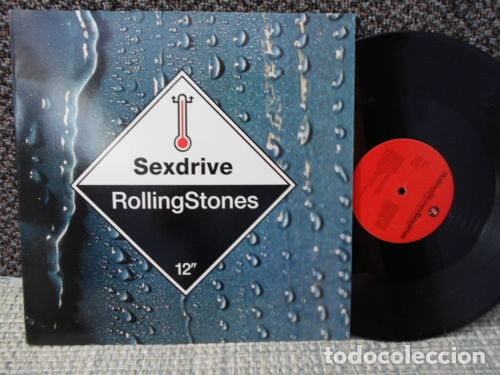 ROLLING STONES - SEXDRIVE 1991 RARO PROMOCIONAL MAXI 3 TEMAS, ORG USA EDT, EXC (Música - Discos de Vinilo - Maxi Singles - Pop - Rock Internacional de los 70)