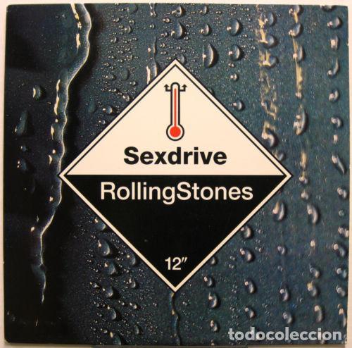 Discos de vinilo: ROLLING STONES - Sexdrive 1991 RARO PROMOCIONAL MAXI 3 TEMAS, ORG USA EDT, exc - Foto 2 - 139635598