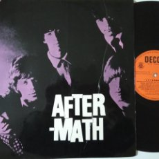 Discos de vinilo: THE ROLLING STONES-AFTER MATH- SPANISH MONO LP 1966- ERROR LABEL.. Lote 139636486