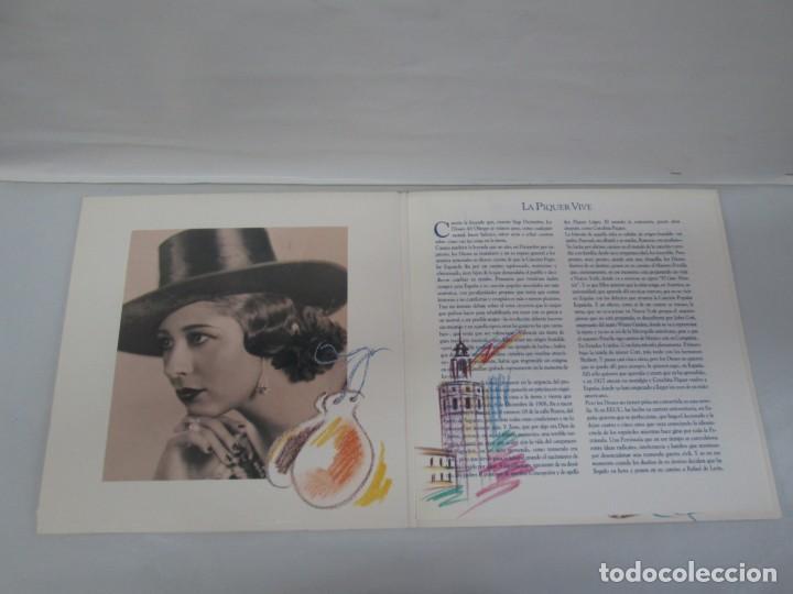 Discos de vinilo: LA PIQUER VIVE. 26 CANCIONES DE LEYENDA. LP VINILO. EMI ODEON. 1991. VER FOTOGRAFIAS ADJUNTAS - Foto 4 - 139638370