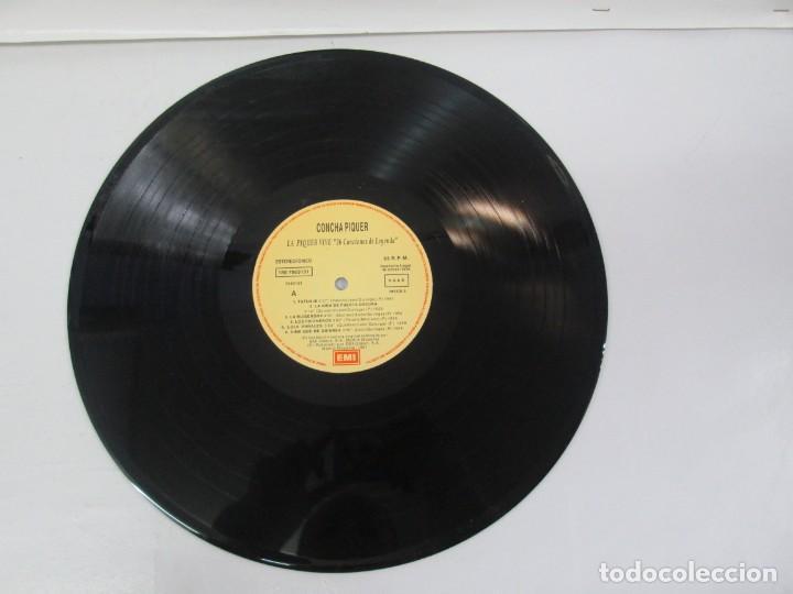 Discos de vinilo: LA PIQUER VIVE. 26 CANCIONES DE LEYENDA. LP VINILO. EMI ODEON. 1991. VER FOTOGRAFIAS ADJUNTAS - Foto 5 - 139638370