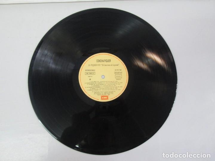Discos de vinilo: LA PIQUER VIVE. 26 CANCIONES DE LEYENDA. LP VINILO. EMI ODEON. 1991. VER FOTOGRAFIAS ADJUNTAS - Foto 7 - 139638370