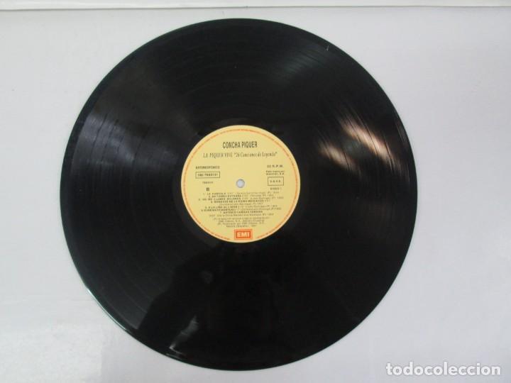 Discos de vinilo: LA PIQUER VIVE. 26 CANCIONES DE LEYENDA. LP VINILO. EMI ODEON. 1991. VER FOTOGRAFIAS ADJUNTAS - Foto 11 - 139638370