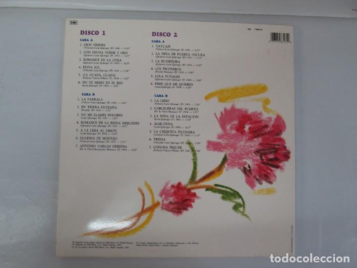 Discos de vinilo: LA PIQUER VIVE. 26 CANCIONES DE LEYENDA. LP VINILO. EMI ODEON. 1991. VER FOTOGRAFIAS ADJUNTAS - Foto 13 - 139638370