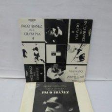 Disques de vinyle: PACO IBAÑEZ. EN EL OLYMPIA. POEMAS DE FEDERICO GARCIA LORCA Y LUIS DE GONGORA. LP VINILO. POLYDOR. Lote 139640430