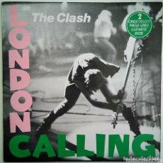 Discos de vinilo: THE CLASH – LONDON CALLING – CBS 460114 1 – DOBLE VINILO – ESPAÑA – 1989. Lote 139642234