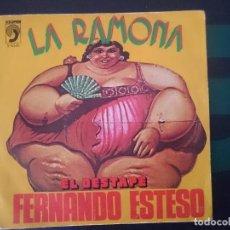 Discos de vinilo: FERNANDO ESTESO - LA RAMONA -REF-M2E4. Lote 139644590