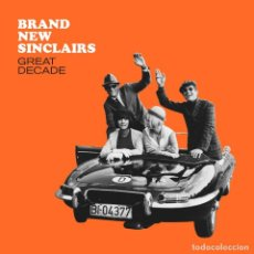Discos de vinilo: 10 PULGADAS BRAND NEW SINCLAIRS GREAT DECADE VINYL GARAGE. Lote 139651138