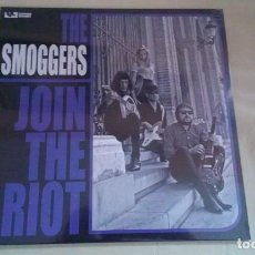 Discos de vinilo: LP THE SMOGGERS JOIN THE RIOT VINILO GARAGE. Lote 139651850