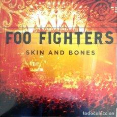 Discos de vinilo: DOBLE LP FOO FIGHTERS - SKIN AND BONES / VINILO / ED. OFICIAL 2015 / NUEVO. Lote 139663906
