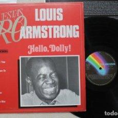 Discos de vinilo: LOUIS ARMSTRONG HELLO, DOLLY LP VINYL MADE IN SPAIN 1982. Lote 139664326