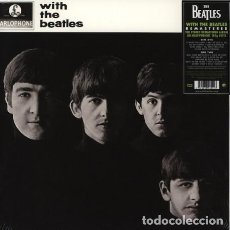 Discos de vinilo: LP THE BEATLES - WITH THE BEATLES / VINILO / ED. OFICIAL 2012 APPLE-PARLOPHONE / NUEVO . Lote 139666766