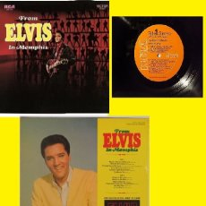 Discos de vinilo: ELVIS PRESLEY - FROM ELVIS IN MEMPHIS 1969 - IN THE GHETTO, RARA 1ª EDIC ORG USA RCA, TODO EXC !!. Lote 139668762