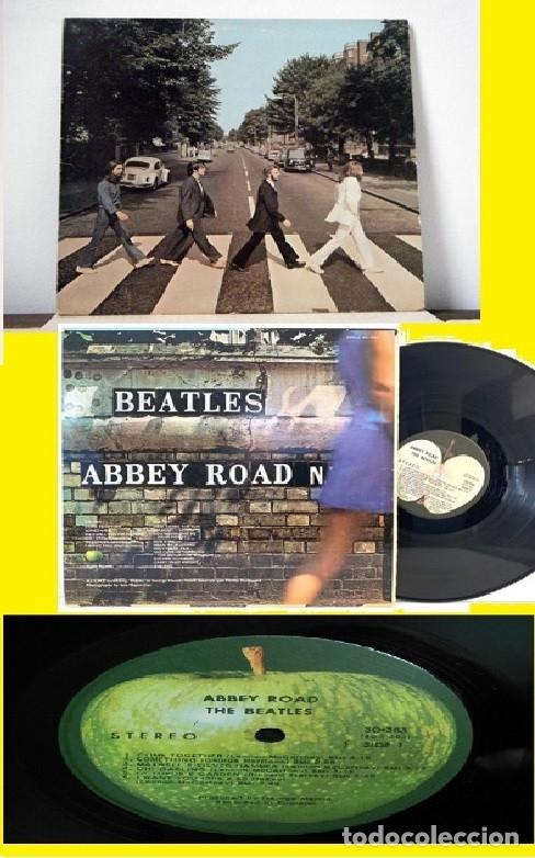 THE BEATLES - ABBEY ROAD 1969 !! HER MAJESTY, RARA EDIT USA APPLE SO-383, TODO EXC (Música - Discos - LP Vinilo - Pop - Rock Extranjero de los 50 y 60)