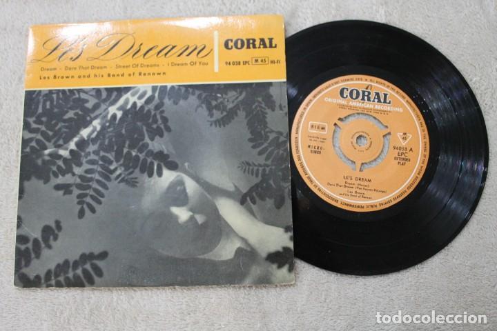 EP LE'S DREAM LES BROWN AND HOS BAND OF RENOWN 1959 (Música - Discos de Vinilo - EPs - Jazz, Jazz-Rock, Blues y R&B)