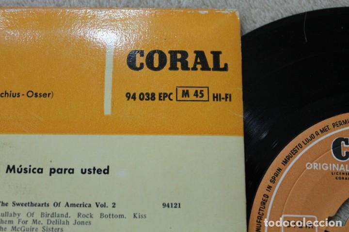 Discos de vinilo: EP LES DREAM LES BROWN AND HOS BAND OF RENOWN 1959 - Foto 3 - 139686386