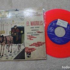 Discos de vinilo: EP FILIPPO CARLETTI EL MADRILES VINILO ROSA 1960. Lote 139687002