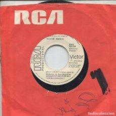 Discos de vinilo: DAVID BOWIE / SPACE ODDITY (SINGLE PROMO 1972) SOLO CARA A. Lote 139689354