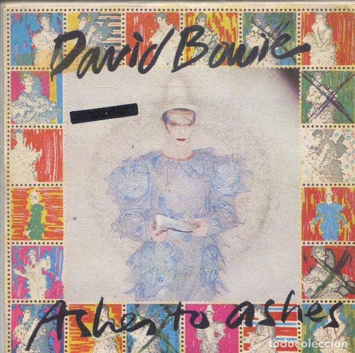 DAVID BOWIE / ASHES TO ASHES / MORE ON (SINGLE PROMO 1990)