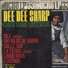 Discos de vinilo: DEE DEE SHARP (MICRO LP 33 RPM) 6 TEMAS (EP 1963). Lote 139692394