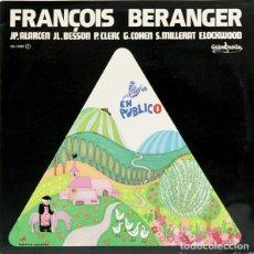 Discos de vinilo: FRANÇOIS BERANGER GUIMBARDA CON LIBRETO INTERIOR. Lote 139696762