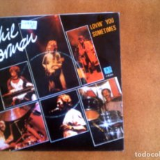 Discos de vinilo: SINGLE DE PHIL CARMEN ,LOVIN,YOU SOMETIMES. Lote 139697502